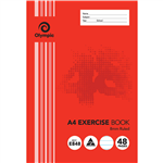 OLYMPIC E848 EXERCISE BOOK 8MM FEINT RULED 55GSM 48 PAGE A4