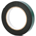 NACHI 2010 DOUBLE SIDED FOAM MOUNTING TAPE 25MM X 5M BLACK
