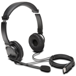 KENSINGTON HIFI USB HEADPHONES WITH MICROPHONE BLACK