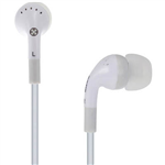 MOKI STEREO EARPHONES NOISE ISOLATION WHITE