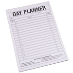 QUILL DAY PLANNER PAD 70GSM A4 PACK 50 SHEETS