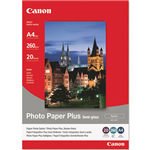 CANON SG201 PHOTO PAPER PLUS SEMIGLOSS 260GSM A4 WHITE PACK 20
