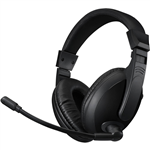 ADESSO H5U XTREAM STEREO USB MULTIMEDIA HEADSET BLACK