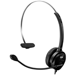 ADESSO P1 XTREAM SINGLESIDED USB WIRED HEADSET BLACK