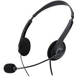 ADESSO H4 XTREAM STEREO HEADSET BLACK