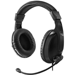 ADESSO H5 XTREAM MULTIMEDIA USB HEADSET BLACK