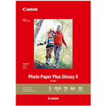 CANON PP301 GLOSSY PHOTO PAPER 265GSM A4 WHITE PACK 20