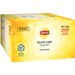 LIPTON TEA BAGS WITH TAG AND STRING CARTON 1000