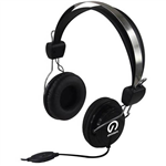 SHINTARO MULTIMEDIA HEADSET WITH INLINE MICROPHONE BLACK