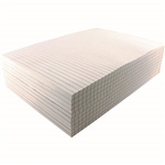 INITIATIVE OFFICE PAD RULED BOTH SIDES BOND A4 100 SHEETS WHITE PACK 10