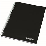 INITIATIVE TWINWIRE NOTEBOOK A5 160 PAGE