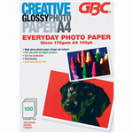 CREATIVE PHOTO PAPER EVERYDAY 170GSM A4 WHITE PACK 100