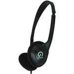 SHINTARO SH101 LIGHT WEIGHT HEADPHONE BLACK