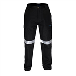 PRIME MOVER MW70E LIGHTWEIGHT CARGO PANTS WITH DOUBLE CARGO POCKETS AND TAPE