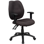 INITIATIVE AMBITION HIGH BACK OPERATOR CHAIR ARMS BLACK